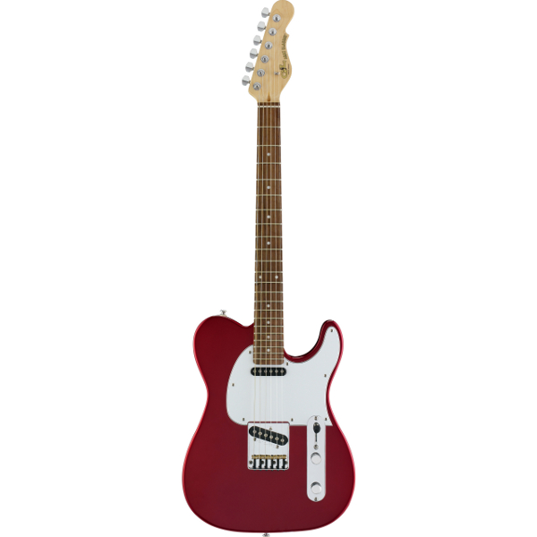 G&L Tribute ASAT Classic In Candy Apple Red.