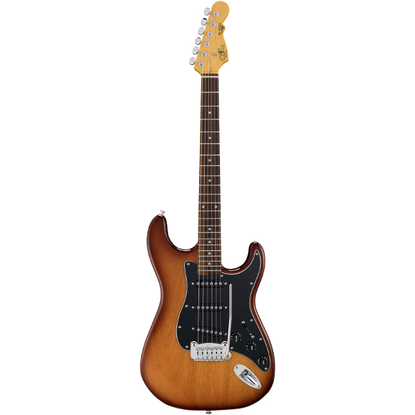 G&L Tribute S-500 In Tobacco Sunburst.