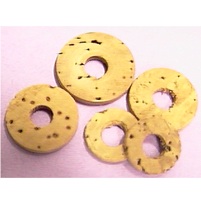 Cork Valve Washer 100 Piece Assortment.