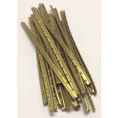 "Brass Fret Wire Bag Of 24, 2-1/2"" Long"