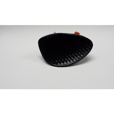 Black Plastic 3/4 - 4/4 Violin Chin Rest.