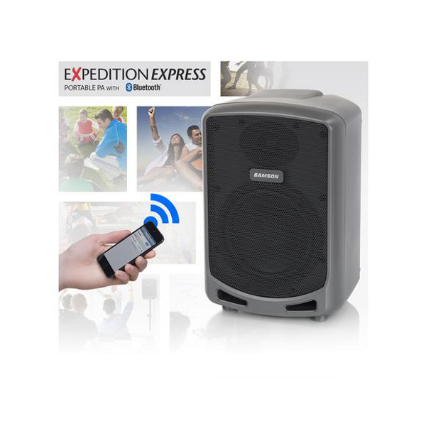 Samson Expedition Express Bluetooth PA System.