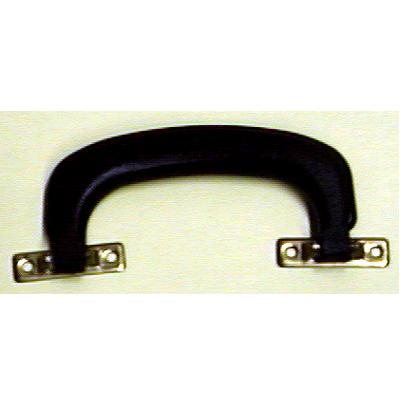 Case Handle Black Plastic With Mounting Brackets.