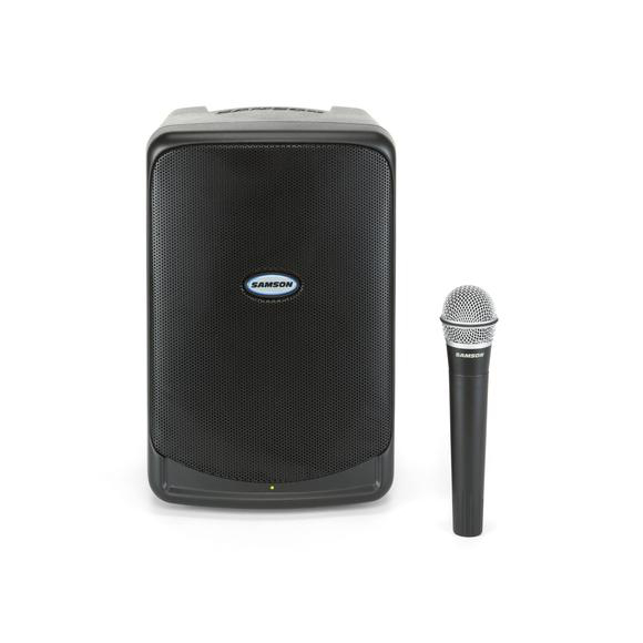 Samson XP106w Portable PA With Wireless Mic and Bluetooth.