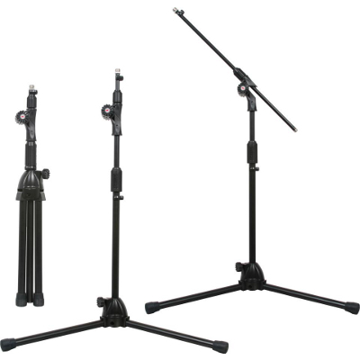 "Galaxy 60"" Concealed Boom Mic Stand."