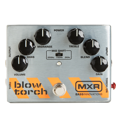 MXR Bass Blow Torch Pedal.