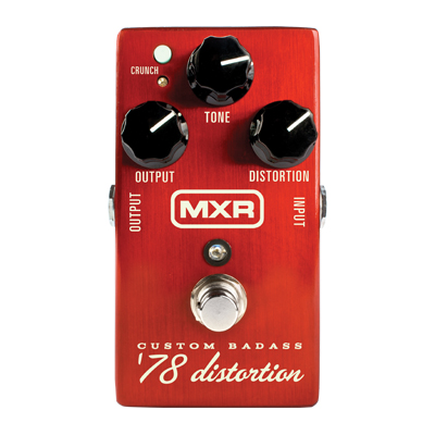 MXR Custom Badass '78 Distortion Pedal.