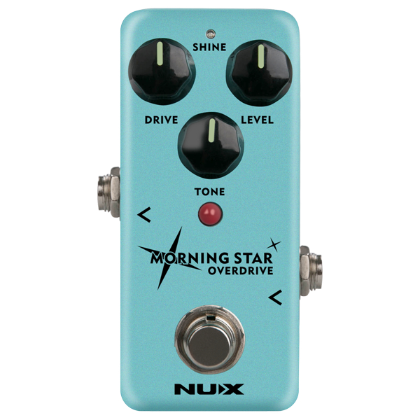 Nux Mini Core Morning Star Overdrive Pedal.