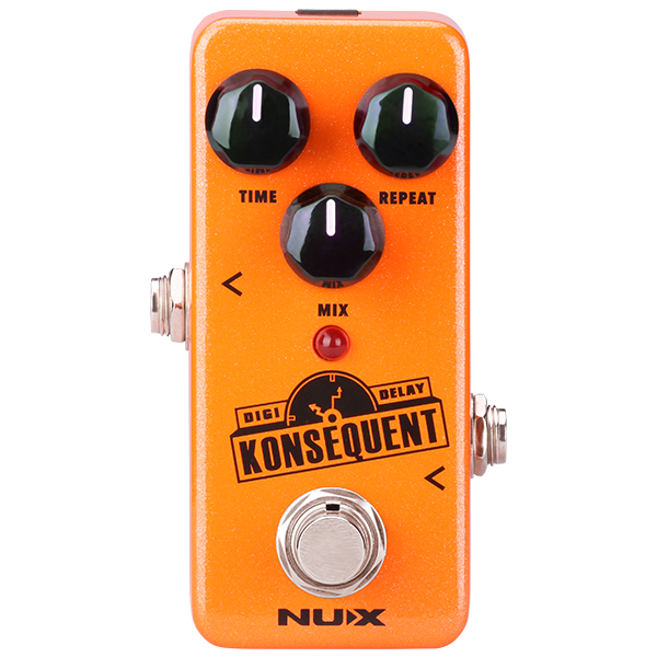 Nux Mini Core Konsequent Delay Pedal.