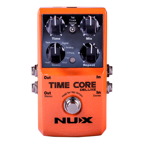 Nux Time Core Deluxe Delay Pedal.