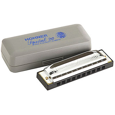 Hohner Special 20 Harmonica.