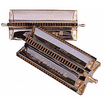 Huang Musette 4 Harmonica.