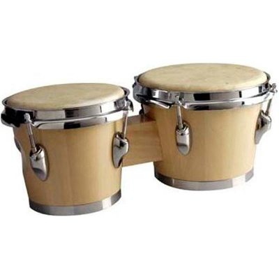 Deluxe Tunable Wood Bongos.