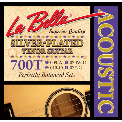 La Bella Tenor Guitar Strings.