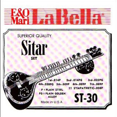 La Bella Sitar Strings.