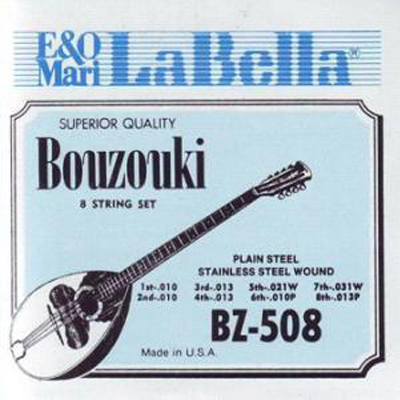 La Bella 8 String Bouzouki Strings.
