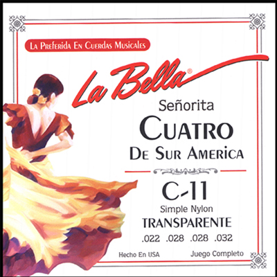 La Bella Cuatro South America Strings.