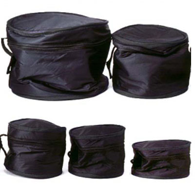 5 Piece Standard Drum Bag Set.