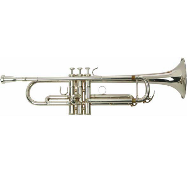 Silver Plated Trumpet Outfit.