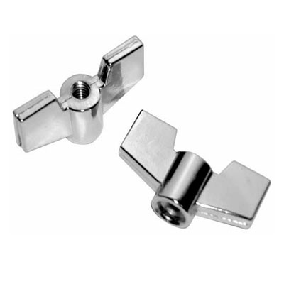 Metal wing nut 6 MM.