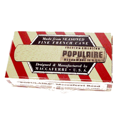 Populaire Baritone Sax Reeds 5 Pack.