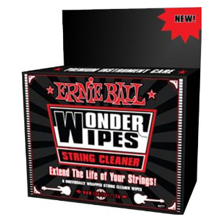 Ernie Ball Wonder Wipes String Cleaner 6 Pack.