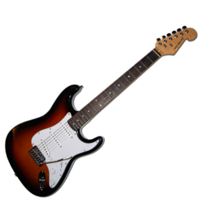 Strat Style Full Size Electric Guitar.