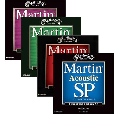 Martin SP Acoustic Strings Phosphor Bronze.